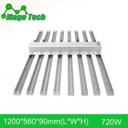 720W 1,2 M LED crece la luz disipador de calor crece la luz de aluminio disipador de calor crece la iluminación (conjunto completo de disipador de calor solamente)