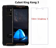 For Cubot King Kong 3 Tempered Glass Cubot King Kong 3 IP68 Screen Protector Mobile Phone Film For Cubot KingKong 3 Cover Glass(China)