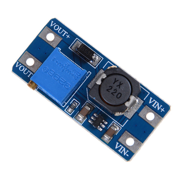 2A Boost Power Supply Board step-up Converter Booster Input 3V/5V To 5V/9V/12V/24V Adjustable MT3608 DC-DC Boost Module image