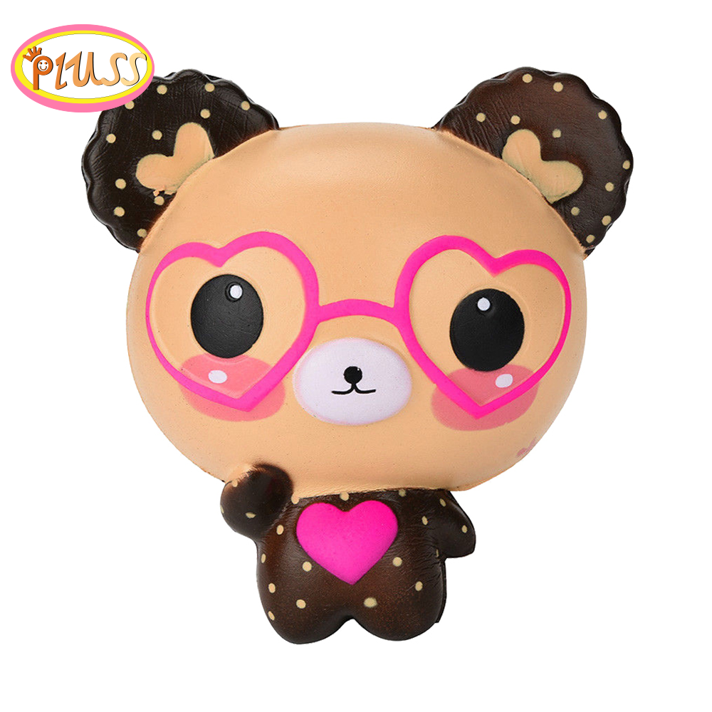 Jumbo Kawaii Bear Scented Squishy Slow Rising Simulation Squeeze Toys Novelty Soft Stress Relief Funny For Kid Xmas Gift Toy