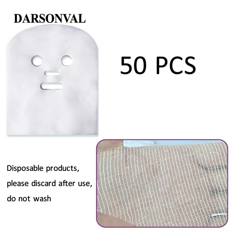 DARSONVAL 50 Pcs Facial Gauze Masks Face Slimming Remove Eye Pouch Facial Skin Care Mask Beauty Tools