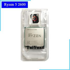 Image 1 - AMD Ryzen 5 2600 R5 2600 3.4 GHz sześciordzeniowy dwunastogwintowy procesor CPU YD2600BBM6IAF gniazdo AM4