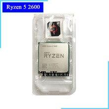 Amd ryzen 5 2600 r5 2600 3.4 ghz, seis núcleo doze rosca processador cpu soquete am4