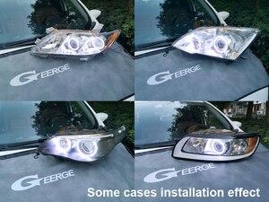 Image 5 - Excellent超高輝度cob ledエンジェル · アイズヘッドランプリング用カースタイリングbmw E83 X3 2003 2004 2005 2006 事前改築ヘッドライト