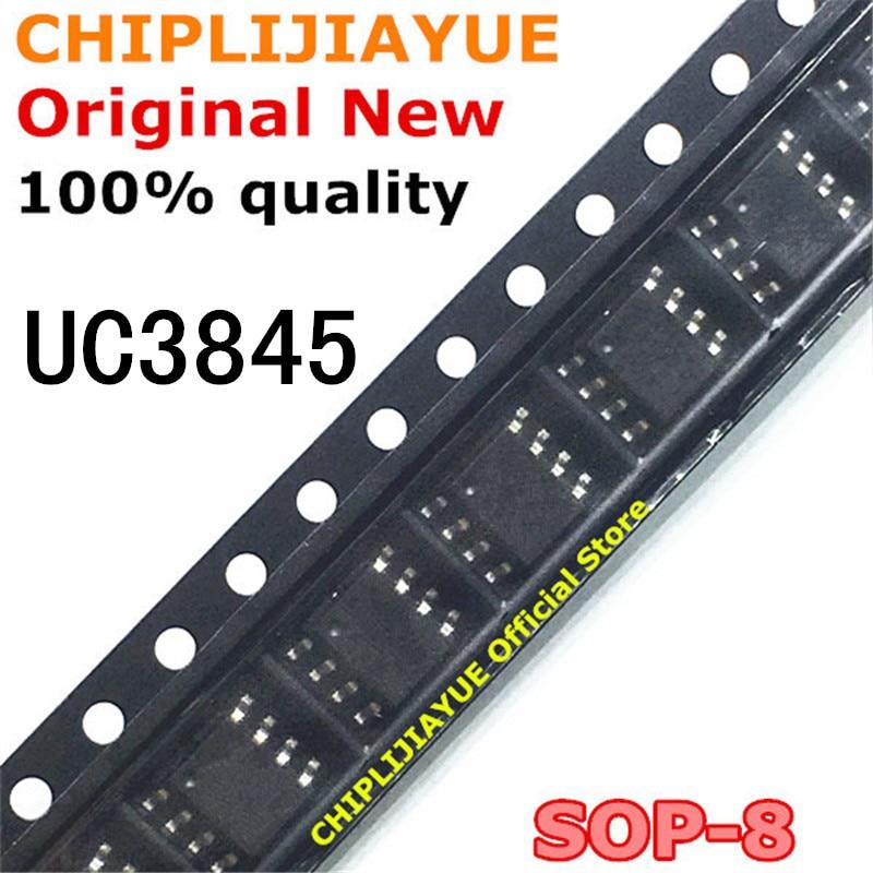 10 шт. UC3845 SOP-8 UC3845B 3845B SOP 3845A 3845 SOP8 SMD новый и оригинальный IC чипсет