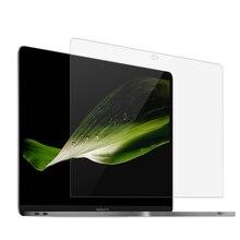 Tela dustproof do portátil para apple macbook pro 13 a2338 (m1)/a2251/a2289/a2159/a1708/a1706/a1989 hd película protetora transparente