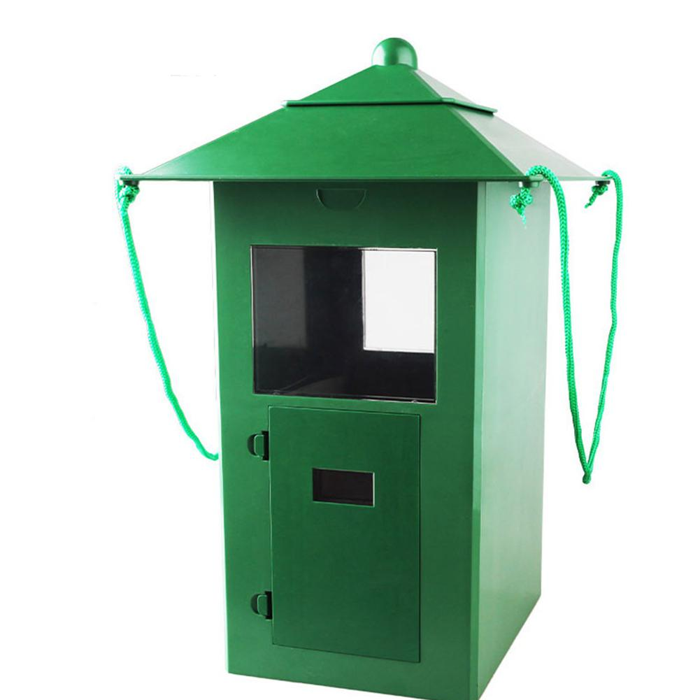 Kuulee 5L distributeur automatique de nourriture pour poissons de grande capacité pour étang d'aquarium