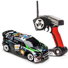 Coche de Control remoto de aleación cepillada para niños, juguete de vehículo de carreras Crawler RTR, escala 1:28, 2,4 Ghz, 4WD, 30 km/h, modelo K989