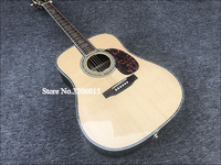 Factory custom 41'' 45 D 20 frets pearl inlay and binding acoustic guitar with EQ,colorized shell edge free shipping