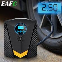 Portable voiture pneu gonfleur LED éclairage numérique pneu pompe gonflable DC 12V compresseur d'air pour voitures roue vélo pneus