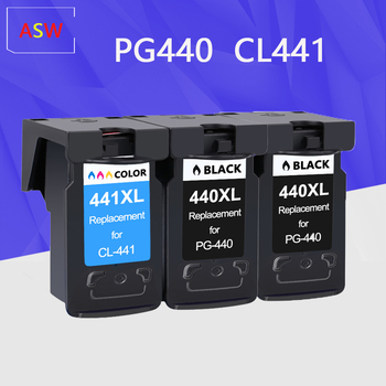 PG440 CL441 440XL Cartridge Replacement for Canon PG 440 CL 441 440XL Ink Cartridge for Pixma MG4280 MG4240 MX438 MX518 MX378