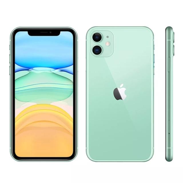 "iPhone 11 Apple (64GB) Preto Tela 6,1"" 4G Câmera 12MP iOS 4"