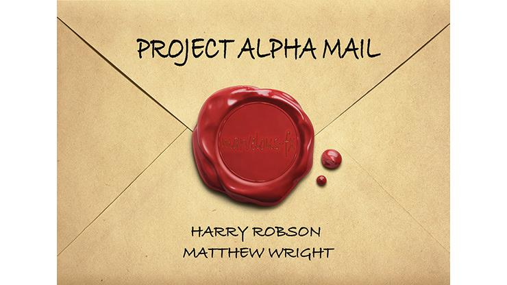 Project Alpha Mail By Harry Robson & Matthew Wright,Magic Tricks