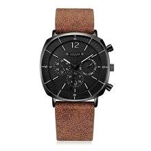ผู้ชายธุรกิจกีฬานาฬิกาควอตซ์ปฏิทินนาฬิกากันน้ำ Mens แฟชั่นหนังสแตนเลสนาฬิกาใหม่ Wacht