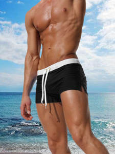 Boxer Shorts Swimsuit Mayo Banadores Surf Maillot-De-Bain Summer Sungas Boy Men