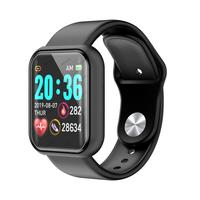 D20 برو ساعة ذكية Y68 IP67 مقاوم للماء اللياقة البدنية بالبلوتوث المقتفي ساعة رياضية معدل ضربات القلب معصمه ل IOS أندرويد HOT