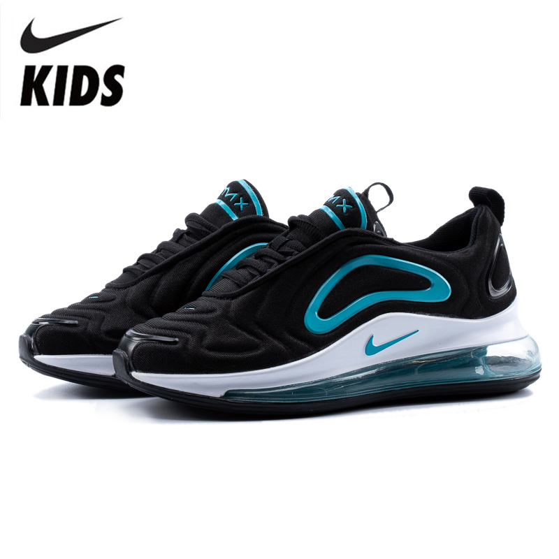 Nike Air Max 720 Kids Shoes Original New Arrival Children Running Shoes Comfortable Sports Air Cushion Sneakers #AR9293-007