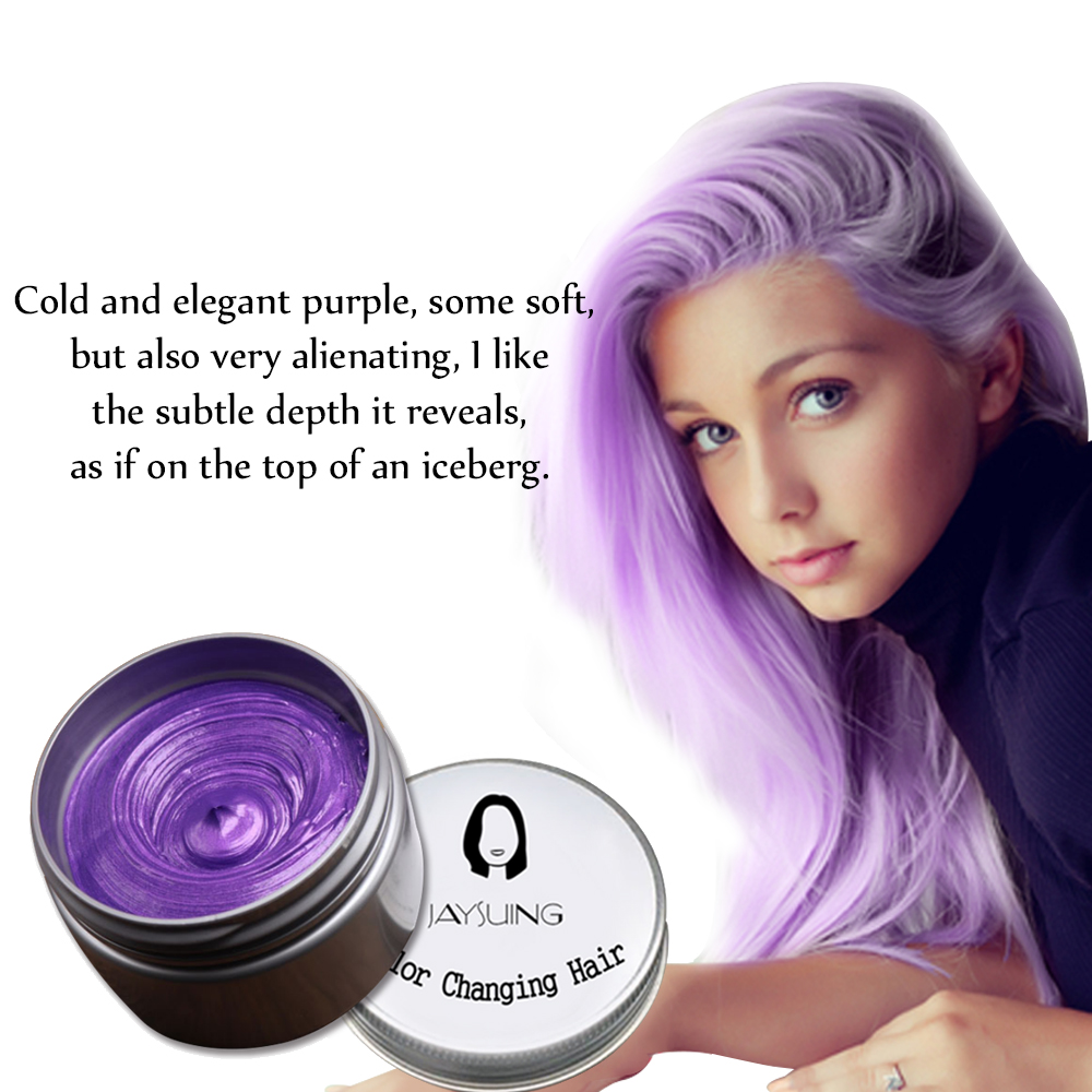 Best Hair Dye Wax Color Styling Disposable Temporary Hairstyle Cream For Men Women Hair Molding Paste Qq99 Hair Color Mixing Bowls Aliexpress