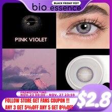 Bio-essence Official Color Contact Lenses Blue 1Pair(2pcs) DNA Series Fashion Lens Eye Beauty Lentes De Contacto Wholesale