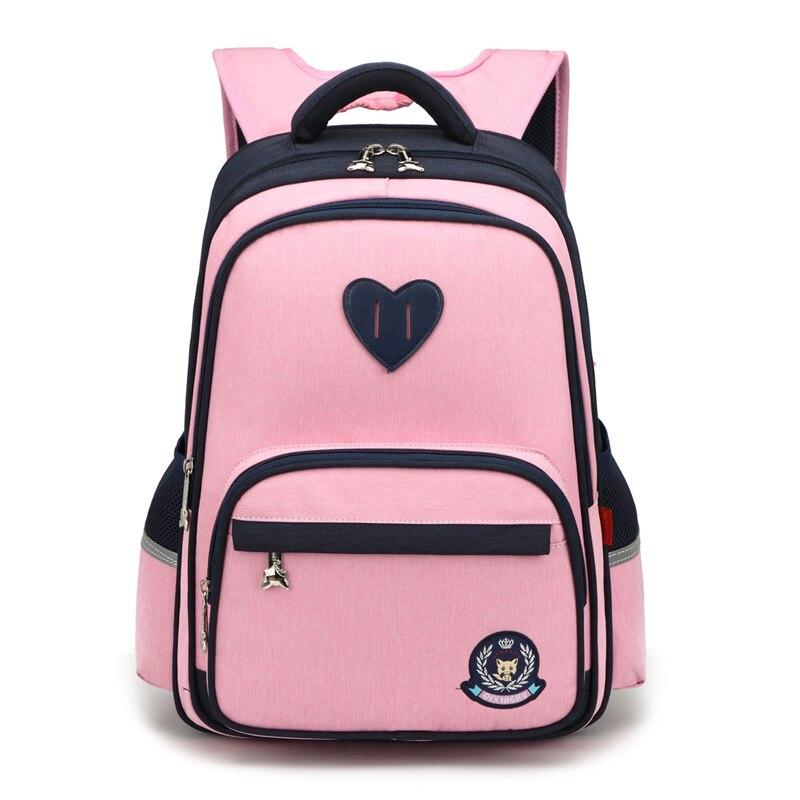 Waterproof Children School Bags Primary Backpacks Boy Girl Kids Satchel Schoolbag Orthopedic Backpack Mochila Infantil