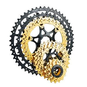 Image 3 - MTB kaset 10 11 12 hız 11 40T 42T 46T 50T dağ bisikleti Freewheel bisiklet dişlisi shimano SRAM için SUNRACE bisiklet parçaları