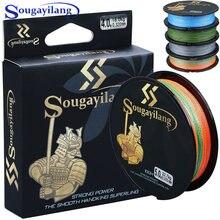 Sougayilang высокое качество 4 цвета 100 м pe плетеная леска