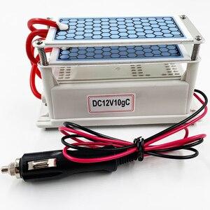 Image 1 - 24 جرام 10 جرام المحمولة مولد أوزون 220 فولت 110 فولت 12 فولت لتنقية الهواء المعالج بالأوزون معقم للاستخدام المنزلي أو السيارة