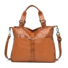 Genuine Leather Handbags Women Bags Designer Handbags Ladies Shoulder Hand Bags For Women Large Casual Tote Sac Bolsa Femini