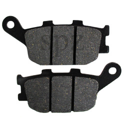 Motorcycle Rear Brake Pads for Yamaha YZF-R6 / YZF-R6S  YZF 600 RR (03-15) YZF600 YZF600RR LT174