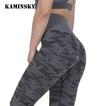 Kaminsky Women Seamless Leggings Push Up Workout Jeggings Femme High Waist Leggins Mujer Fitness Gym Sportswear Sport Women Pant image