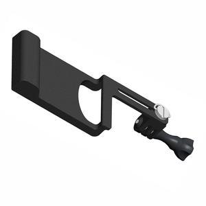 Image 5 - BGNing aluminium cardan interrupteur montage adaptateur plaque pour DJI /MOZA Action stabilisateur Selfie poignée pour GOPRO 8 sport support de caméra