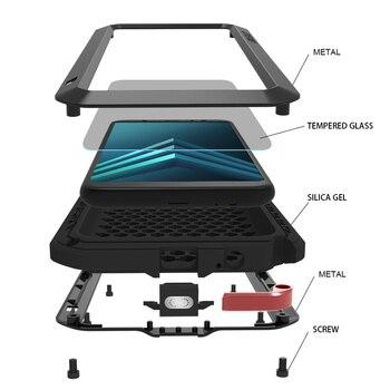 Anti-Fall Case For Samsung Galaxy A6 Plus 2018 Metal Shockproof Phone Cover Samsung Galaxy A6 2018 Rugged Armor Full Body Case фото