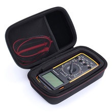 Digital Multimeter EVA Protective Shockproof Hard Storage Bag Carry Case Cover Travel Durable For Fluke F117C/ F17B+/ F115C(China)