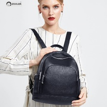 2019 fashion ZOOLER brand Genuine leather backpack bag women backpacks quality luxury bags lady travel tote bag#HH200