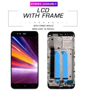 Image 3 - Pantalla LCD de 5,5 pulgadas AAA para móvil, repuesto de marco para digitalizador, para xiaomi mi a1, A1, 5x