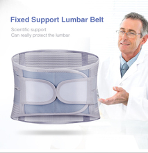 Magnetic Therapy Waist Belt Medical Self-heating Vertebral Support Steel Plate Support Lumbar Posture Correction Waist Tractor ms belt between the waist dish of lumbar tractor pneumatic tensile male outstanding household waist support lumbago