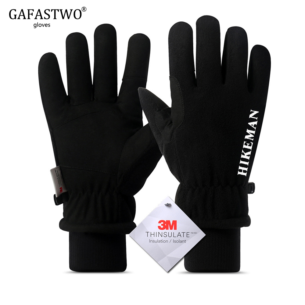 Neue Herren <font><b>Winter</b></font> Ski Handschuhe Frauen Super <font><b>Warm</b></font> Touch Screen Winddicht Outdoor Sport Thinsulate Mode Verdicken Lamm Handschuhe image