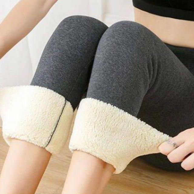 Winter Heavy Fleece Leggings 4
