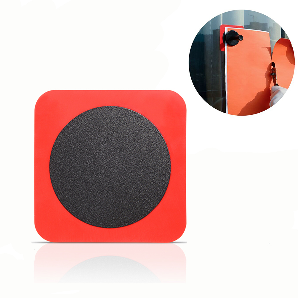 FOSHIO Silicone Metal Adsorptive <font><b>Patch</b></font> Sheet for Wall Glass Window Tint Sticker Fixing Magnet Holder Vinyl <font><b>Car</b></font> Film Wrap Tool image