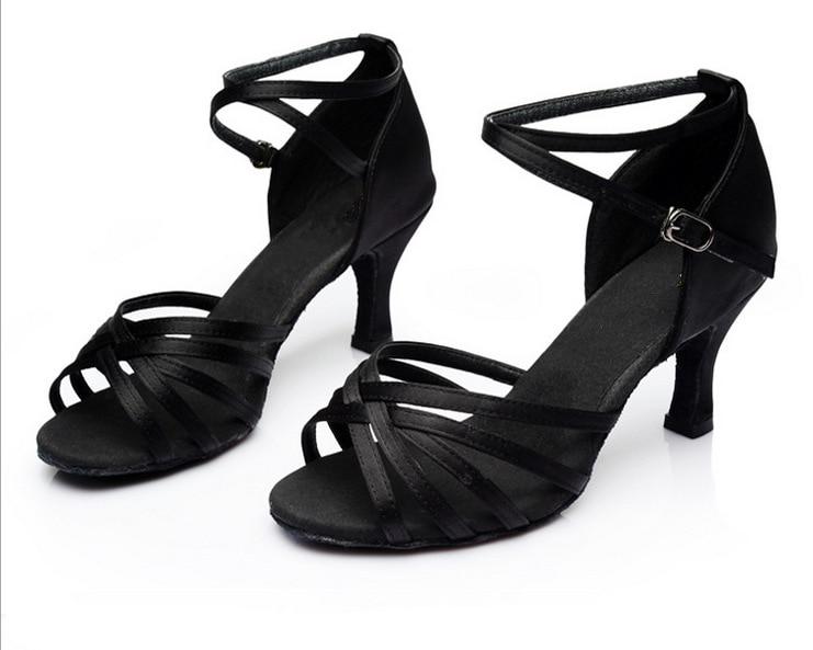 Heeled Dancing-Shoes Ladies Latin Hot-Selling Women Professional