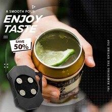 1 pces go swing universal topless abridor de lata o mais fácil abridor de lata ez-abridor de bebida abridor de garrafa