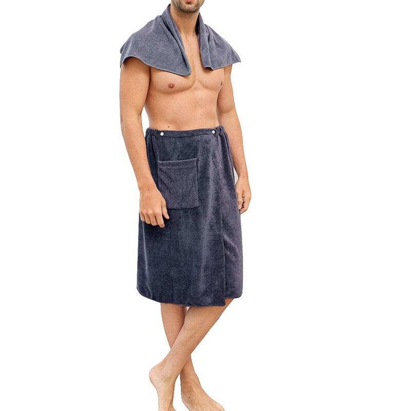 magia mircofiber toalha de banho com bolso