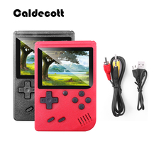 Consola de juegos clásica de mano Caldecott, caja electrónica Retro de Gamepad de 3,0 pulgadas TFT LCD, TV AV OUT para regalo de niño