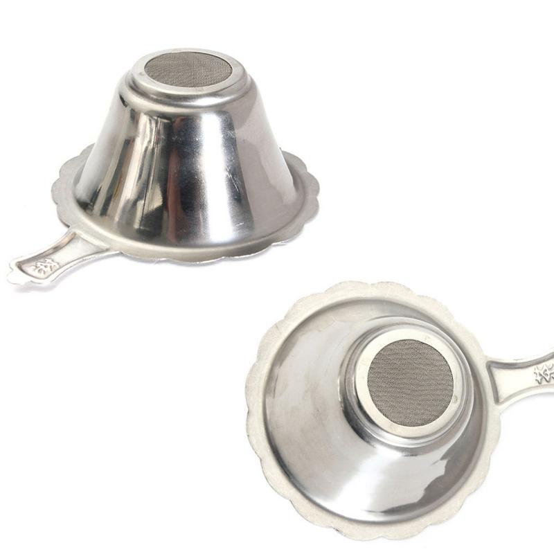 Нержавеющая сталь тонкая сетка для заварки чая ситечко для кофе травы фильтр для специй диффузор аксессуары для чая кухонные инструменты ч...