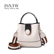 ISXTW 2019 New Designer Women Handbags Leather Shoulder Bags Female Fashion Larger Capacity  Messenger Bag Girls Casual Tote/A62 new women tote bag high capacity female casual fashion ol business cattle split leather messenger handbags black brown gray