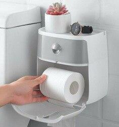Wodoodporna ściana zamontowany pudełko chusteczek nowoczesny papier toaletowy posiadacze ręcznik do łazienki plastikowe wysokiej jakości zorganizować Rack