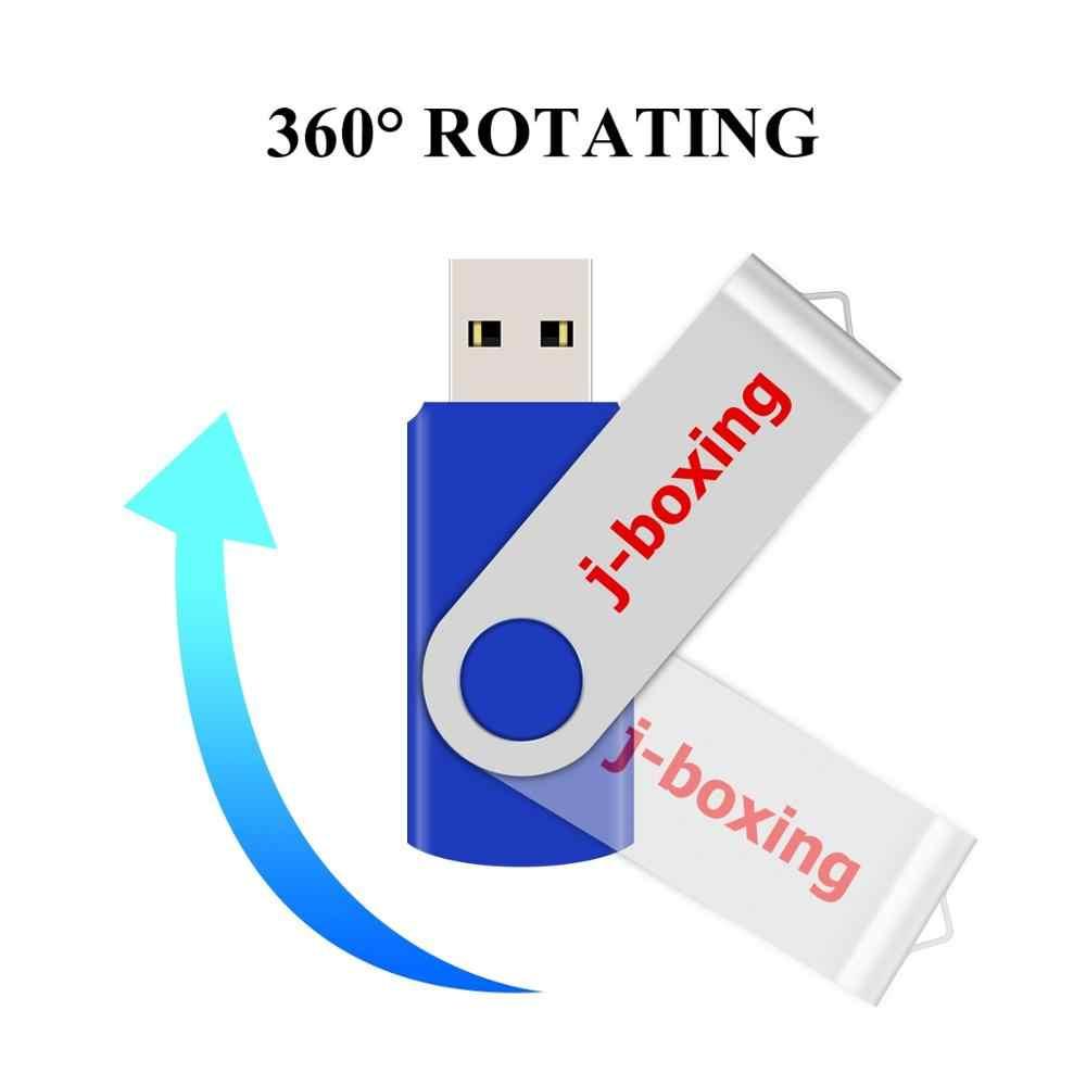 J-boks 16 GB USB Flash döner Pendrive döner flaş sopa başparmak kalem sürücü depolama yeterli Memory Stick PC dizüstü Macbook