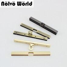 4 Stuks 3 Kleuren 11.5 Cm 4.5 Inch 8 Schroeven Portemonnee Frames Tas Handvat Tas Metalen Frame Accessoire, kus Sluiting Voor Kleine Portemonnee Frames