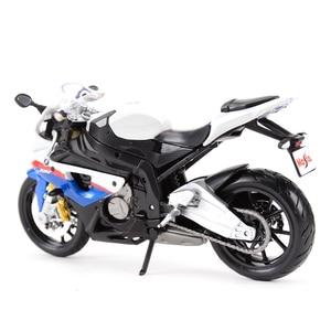 Image 2 - Maisto 1:12 BMW S 1000 RR Литой Транспортных средств Коллекционная хобби модель мотоцикла, игрушки