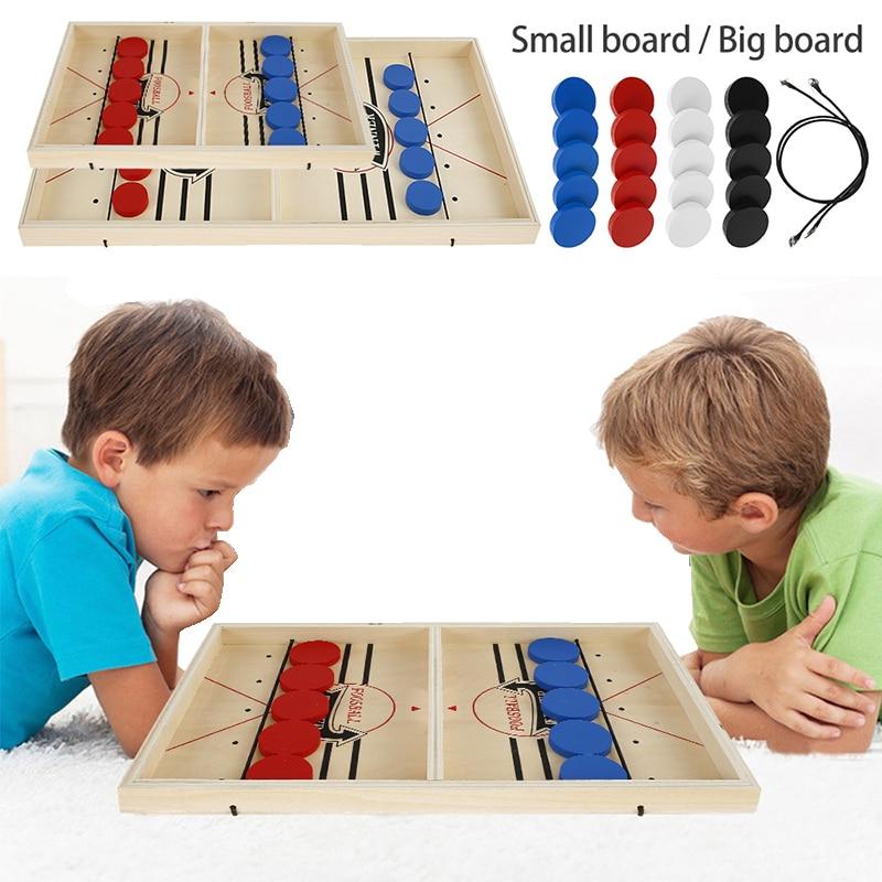 Juego de mesa de Hockey para niños y adultos, juguete de mesa de Hockey